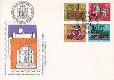 Schweiz  FDC Ersttagsbrief 1983 Altes Kinderspielzeug  Mi.Nr.1260-63