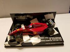 Minichamps 1:43 Ferrari Launch Car 1996 Michael Schumacher