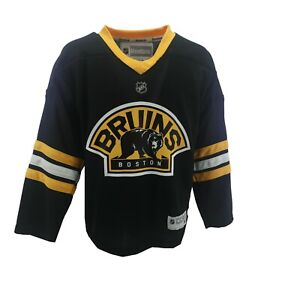 Boston Bruins NHL Reebok Children's Kids Youth Size Jersey New With Tags