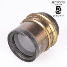H Rap. Apochromat J. I 10 f/7.5 G. Heyde Dresden Brass Lens