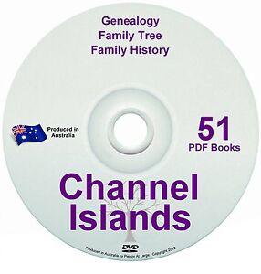 Family History Tree Genealogy Channel Islands Free Post