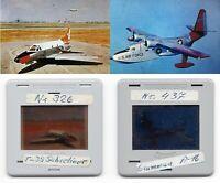 Historische Flugzeuge, 2 Diapositive um 1980