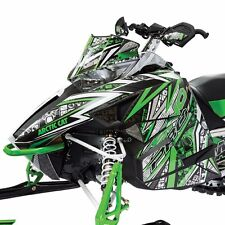 Arctic Cat Snowmobile Green Throttle Hood Decal Wrap Kit C Listing 4Fit 7639-035