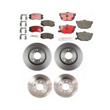 Front Disc Brake Rotors Kit Rear Brembo NEW Fits: Hyundai Tiburon