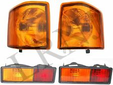 LAND ROVER DISCOVERY 1 1994-1998 AMBER FRONT & REAR LAMP LIGHTS LH & RH SET OF 4
