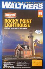 Walthers HO #933-3663 Rocky Point Lighthouse (Building Kit)
