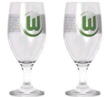Pilstulpe&Gläser 2-er Set  VFL Wolfsburg Fussball Fanartikel