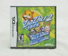 ZhuZhu Pets 2 Featuring the Wild Bunch Nintendo DS Brand New Factory Sealed