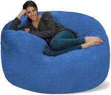 Bean Bag Chair Giant Memory Foam Furniture Big Sofa With Soft Cover Easy Storage