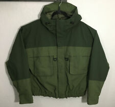 CABELAS GORE-TEX Wading Jacket Size XL Regular Green Full Zip Two Tone Fishing