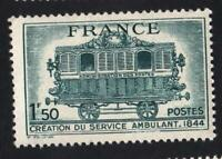 VARIÉTÉ N°609   ( PASSAGER DERRIÈRE LA FENÊTRE   ) Neuf**