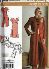 PAJAMAS Top PANT PATTERN Oriental Style Adult Sz 8 to 16 UNCUT SEW YOUR GIFTS