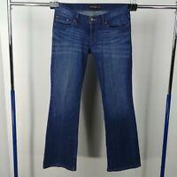 Levis Too Superlow 524 Skinny Jeans Dark Wash Denim Juniors Size 7 M