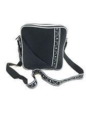 Playboy Black Nylon Bag with Adjustable Strap