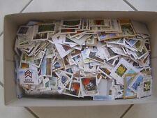 Schuhkarton voll Briefmarken Deutschland gestempelt