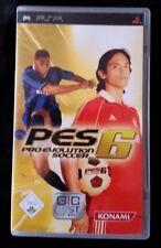 Pro Evolution Soccer 6 (Sony PSP, 2006)