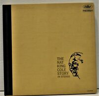"Unique ""The Nat King Cole Story"" 3LP Box Set Capitol SWCL-1613 USA 22 Page Book"