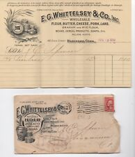 1910 Advertising Cover & Billhead Whittlesey & Co San Francisco Butter Pork