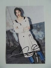 Suzy Bae Miss A 4x6 Photo Korean Actress KPOP autograph signed USA Seller 31