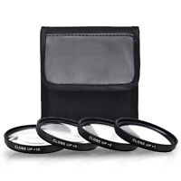 52mm 4 Piece HD Close-Up Filter Set for Nikon D7000 D5000 D3100 D3000 18-55mm
