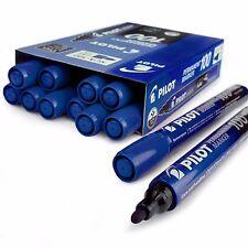 PILOT SCA-100 puntino permanenti pennarello - 4.0mm-4.5mm - blu-scatola di 12