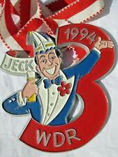 Karnevalsorden 1994 Jeck WDR 3 Köln TOP
