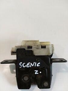 RENAULT SCENIC TAILGATE LOCK MECHANISM 8200076240 GENUINE 2007