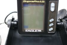 Eagle Supra Pro I.D. Portable Depth & Fish Finder With Transducer Working