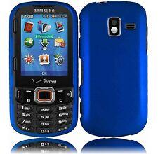 Hard Rubberized Case for Samsung Intensity III U485 - Blue