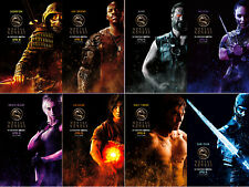 Mortal Kombat Characters Wall Art Print Decor Home Poster Full Size