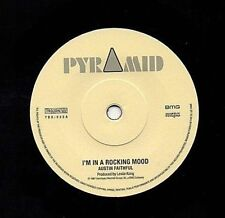 """Austin fiel/Roland al 7"""" como nuevo sin jugar 45 Rock Steady Mod Piel Gratis Reino Unido P&p"""
