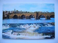 Dumfries, Devorguilla's Bridge and River Nith. (J Arthur Dixon)