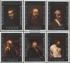 Yemen (UK) 284A-289A (completa Edizione) nuovo linguellato