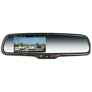 REPLACEMENT MIRROR WI-FI BUILT IN DUAL DVR CAMERAS & 3RD REAR RECORDING CAMERA