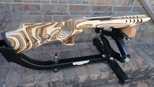 10/22 Ruger COYETTE Camo MAKO SHARK stock w/laser stippling for 920 barrel WOW!!