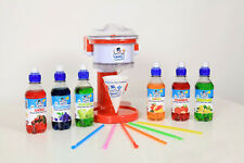 Home Snowcone Machine Package With Flavours - Pre - Order listing ready for Xmas