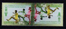 Litauen 1998 postfrisch Kehrdruck MiNr. 669   2. Volksolympiade