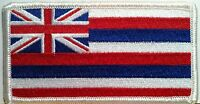 HAWAII STATE FLAG embroidered iron-on PATCH HAWAIIAN ISLANDS