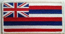 HAWAII STATE FLAG PATCH With VELCRO® Brand Fastener HAWAIIAN  #15