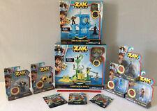 Zak Storm LOT Marituga, Sino Island 7 Figures 3 Collectible Treasure Blind Packs