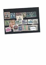 Lots de timbres chinois oblitérés