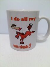 Equestrian Mug Coffee funny  Cup Horsey Horse Pony Birthday Gift girl 233