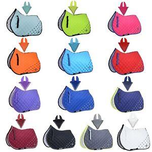 Numnah Saddle Pads with Matchy Bonnet Set With Jewel