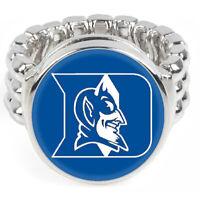 Duke University Blue Devils Mens Womens Jewelry Football Ring Gift Fits All D2
