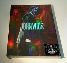 JOHN WICK CHAPTER 2 Blu-ray STEELBOOK [NOVAMEDIA] FULLSLIP B [KOREA] <#329/400>