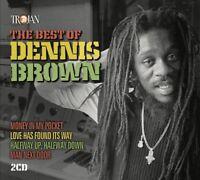 DENNIS BROWN - BEST OF (2CD)  2 CD NEW!