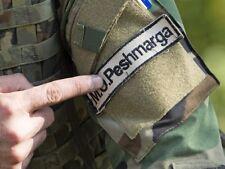 Iraq-Syria Kurdish کورد Anti-Daesh Fighter HOOK/LOOP SSI: PESHMERGA پێشمەرگە
