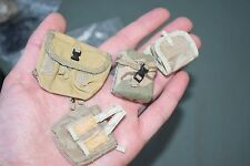 "1:6 Modern US Army Beige Gear Bag Pouches (4 pcs) for 12"" Action Figures C-126"
