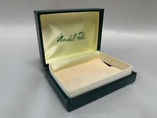 Vintage Marshall Fields Chicago Hinged Lid Jewelry Store Gift Box (A4)