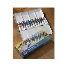 Winsor & Newton Cotman Watercolour 12 Tube Metal Box
